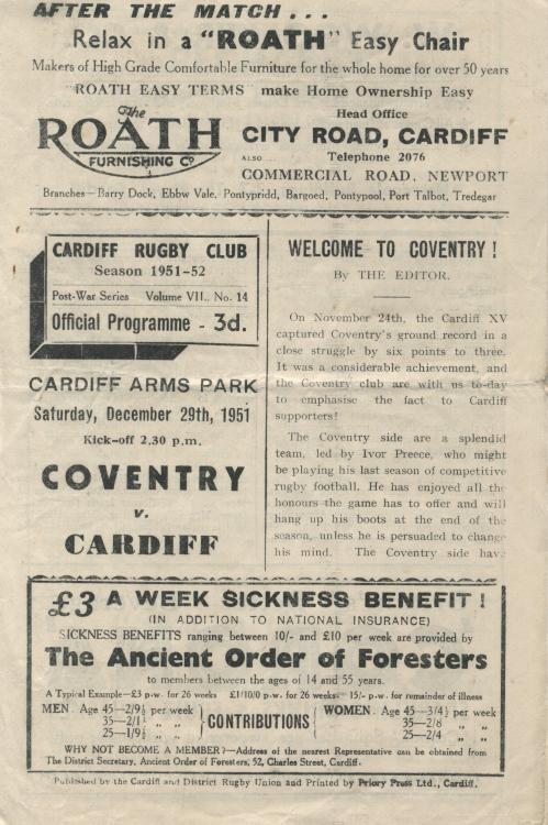 Brancher Coventry